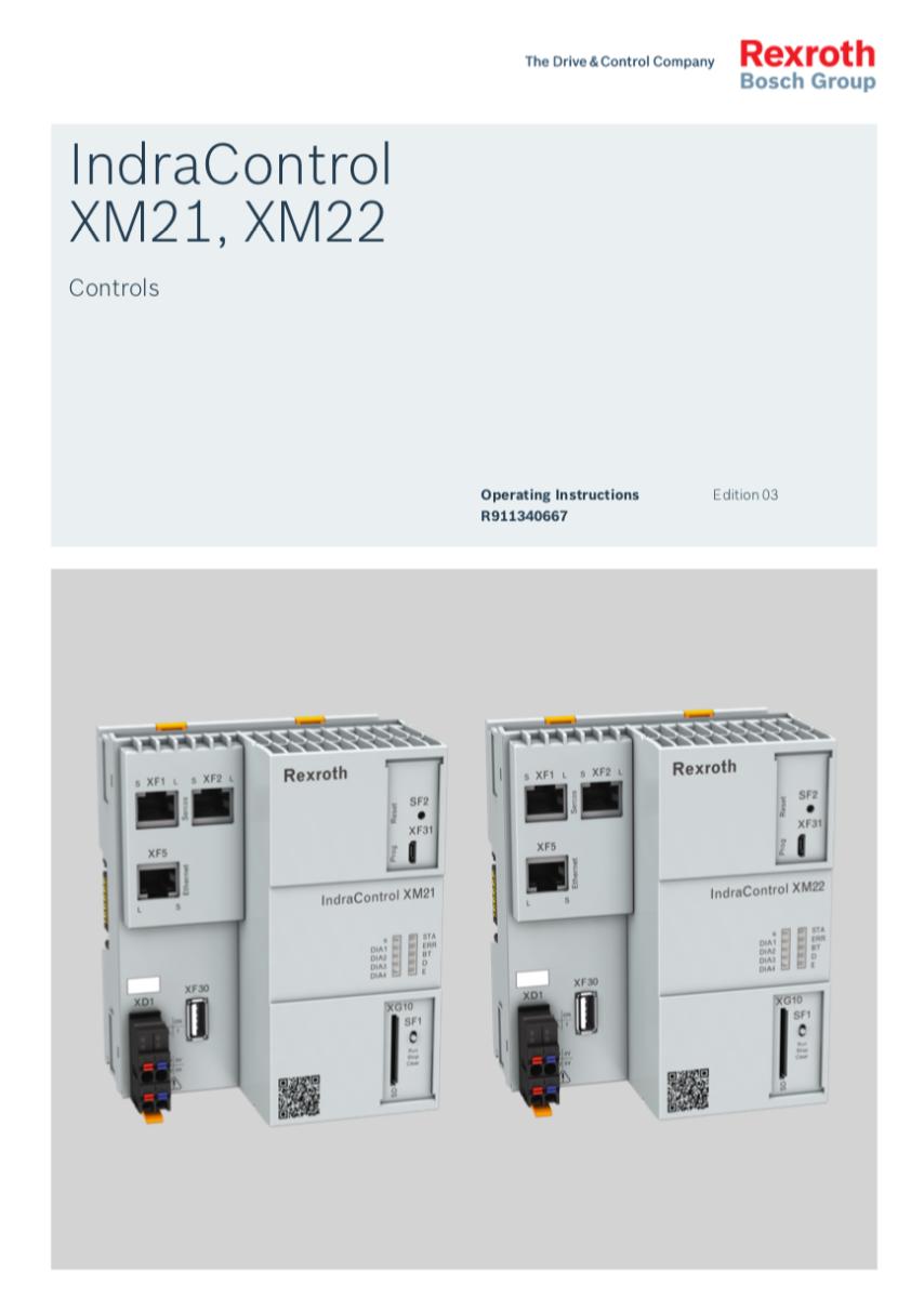 Catálogo IndraControl XM