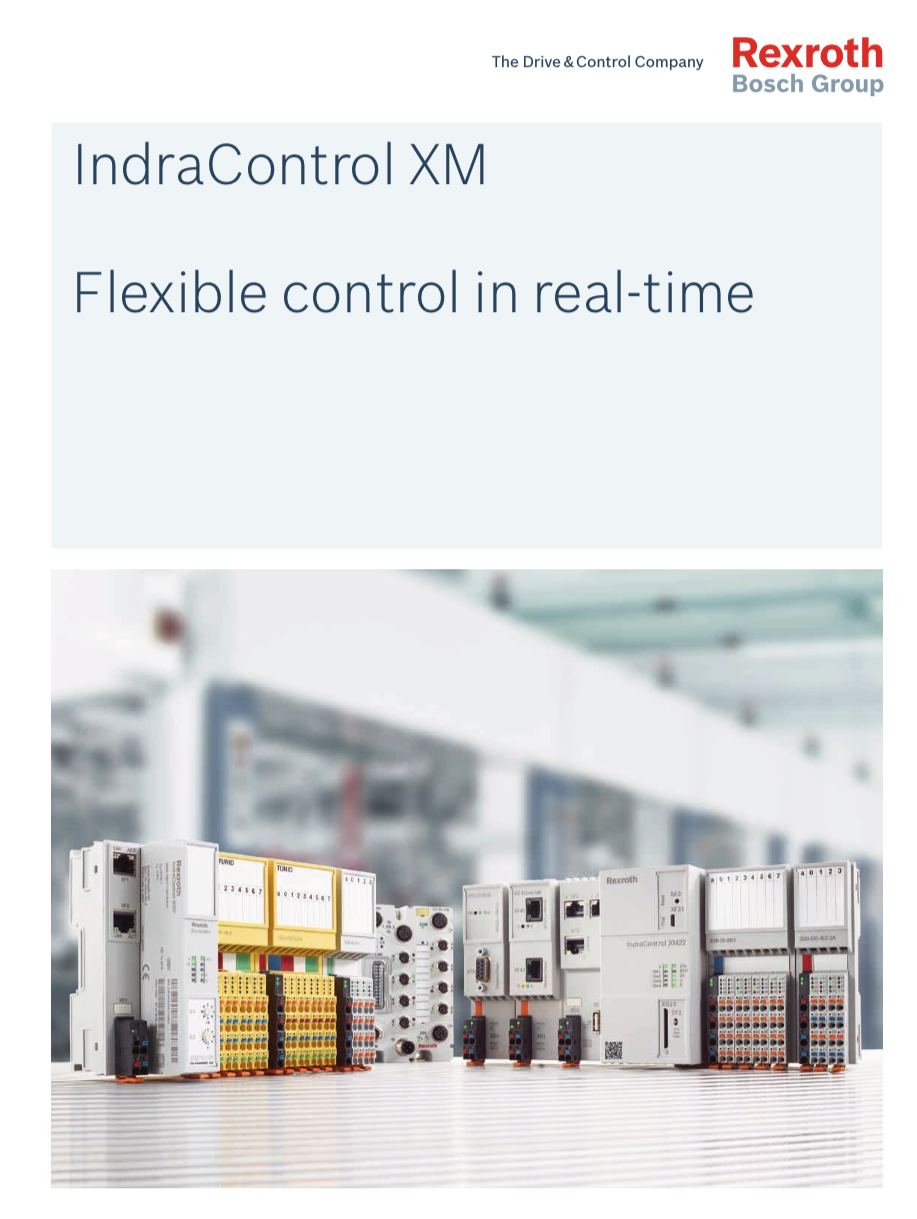 Catálogo IndraControl XM Control Flexible