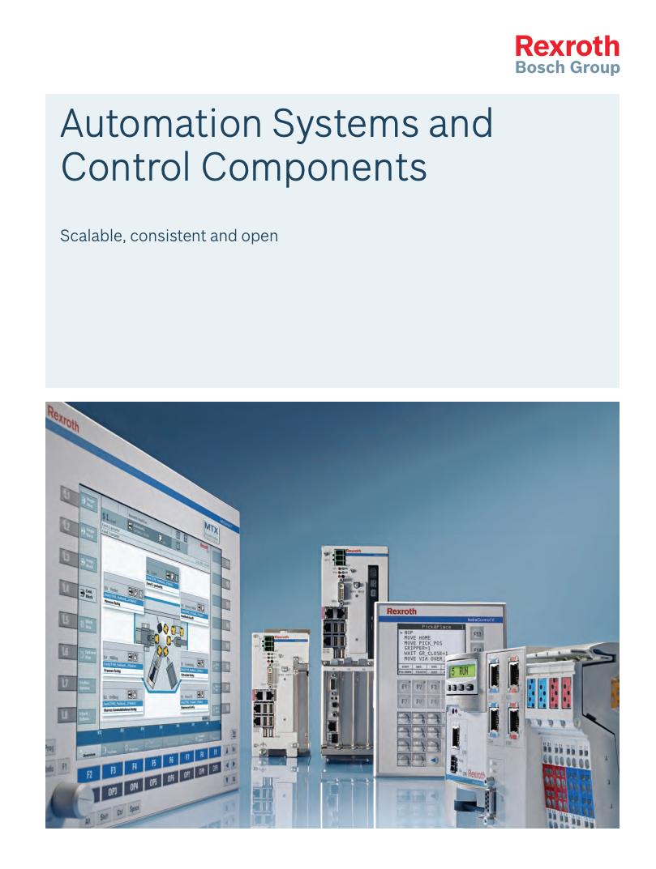 Catálogo de Sistemas de automatización y control