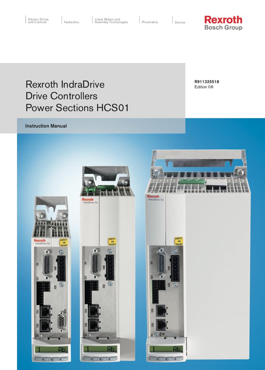 Catálogo IndraDrive Cs HCS01