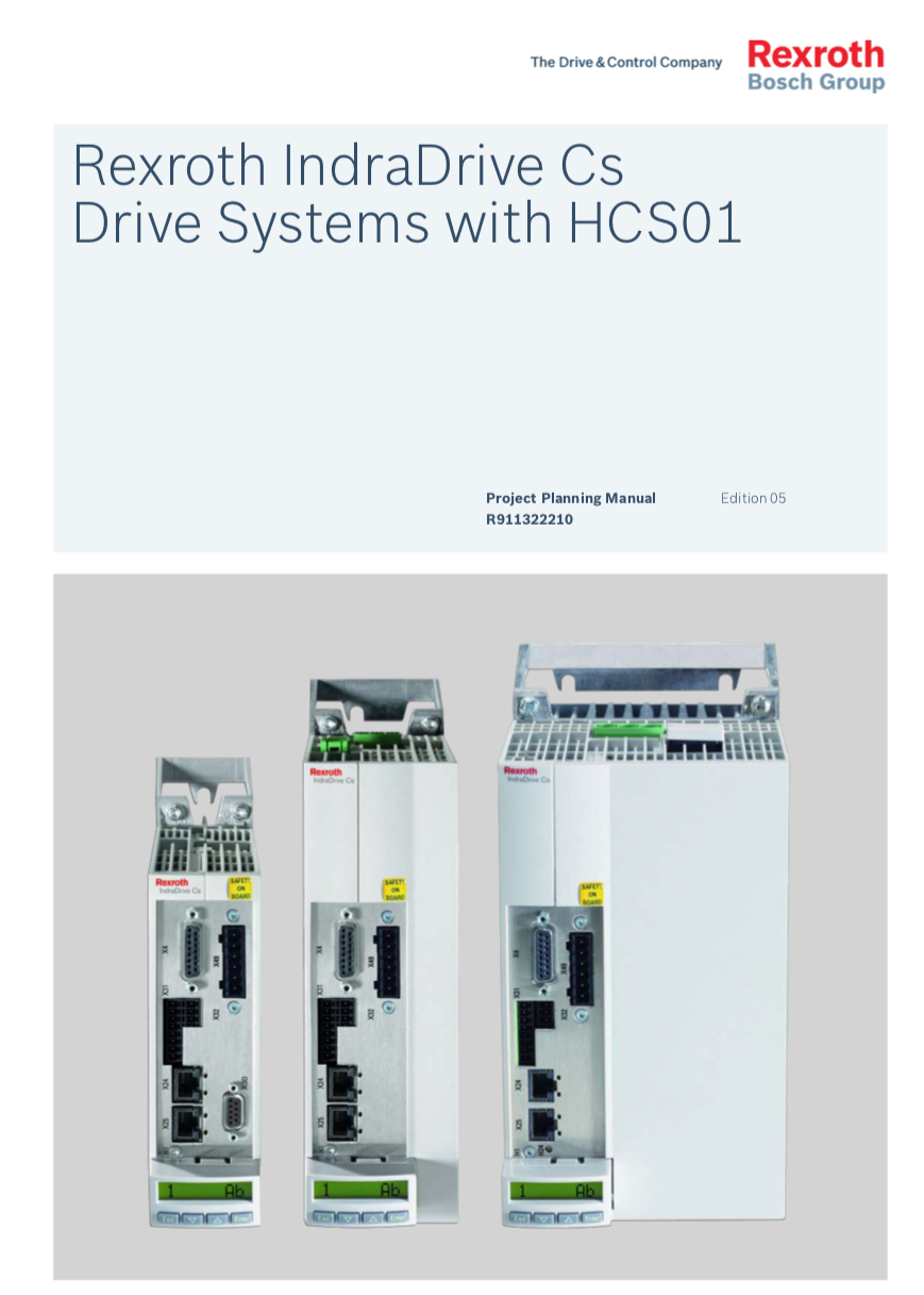 Catálogo IndraDrive HCS01