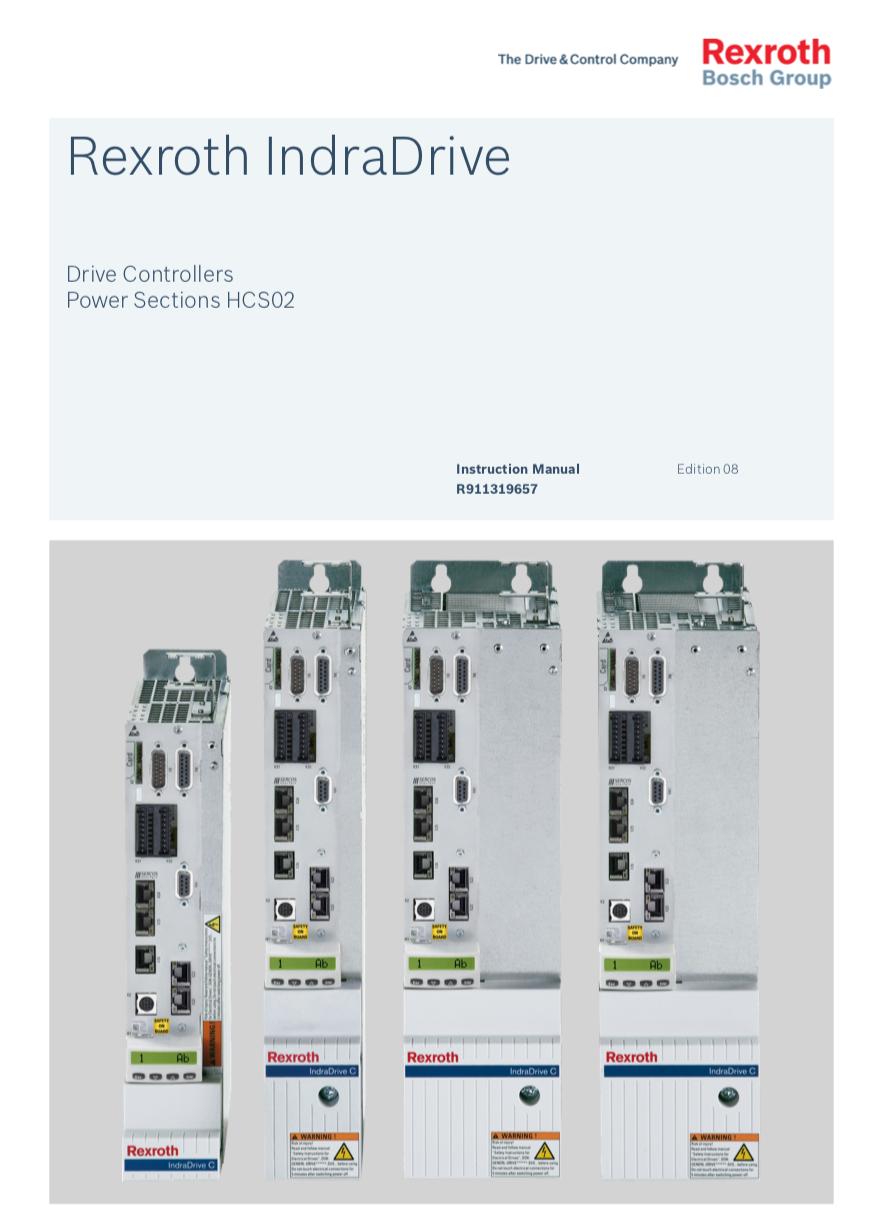 Catálogo IndraDrive HCS02